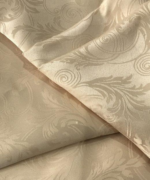 Damask Cream Tablecloth